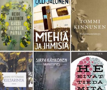 Finlandia-palkinnosta taistelee kuusi romaania